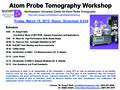 Atom Probe Tomography (APT) Workshop 2013 a-1.jpg